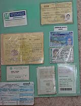 Various forms of illegal ID
